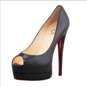 CHRISTIAN LOUBOUTIN Palais Royal Platform Pump